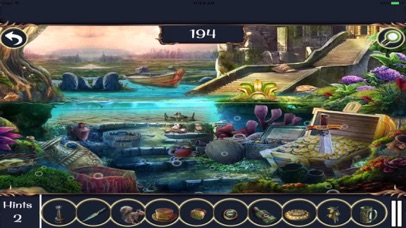 Free Hidden Objects: Treasure Falls screenshot two