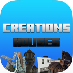 Houses & Creations For Minecraft - Inspiration & Ideas For Creations, Buildings, Structures