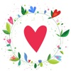 Love Cards - Heart Stickers, Frames and Texts for Romantic Photo Edits