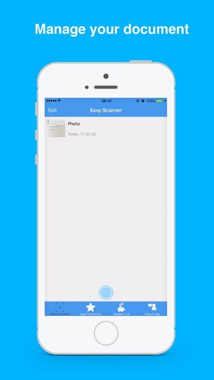 Easy Scanner - Document Scanner screenshot-3