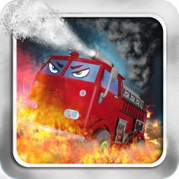 Fight Fires @ Fire Truck And Firemen:Heavy Traffic Congestion Is Reasoning Puzzle Games For Kids,Free HD!