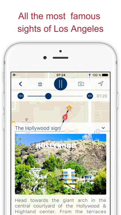 Los Angeles my guide with audio walks & map (USA)