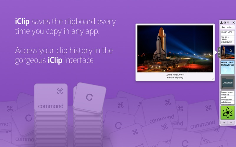 iClip Screenshot