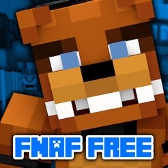 FNAF Skins For Minecraft PE Pocket Edition Free On The App Store - Skin para minecraft pe de freddy