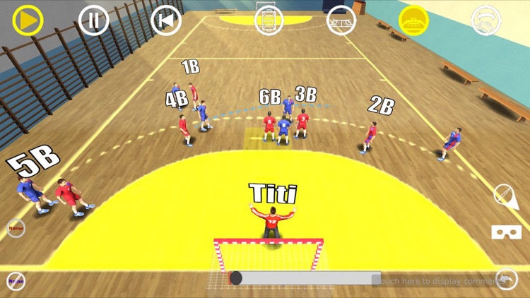 Handball 3D Tactics 2 screenshot-4