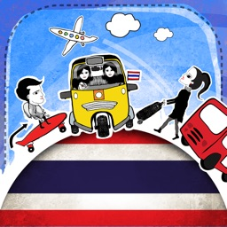 Thai Phrasi - Free Offline Phrasebook with Flashcards and Voice of Native Speaker for Travel to Thailand