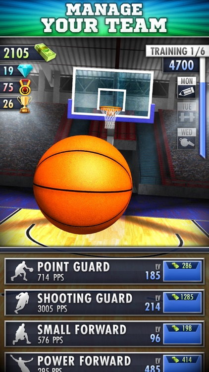 Basketball Clicker screenshot-0