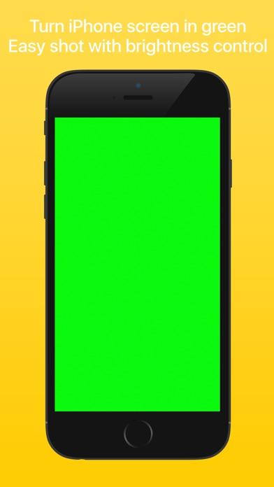 Green Screen - Turns display in green Screenshots