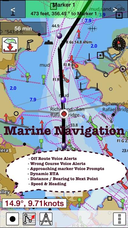 i-Boating:Persian/Arabian Gulf, Red Sea & Gulf of Aden- Marine/Nautical Charts & Navigation Maps