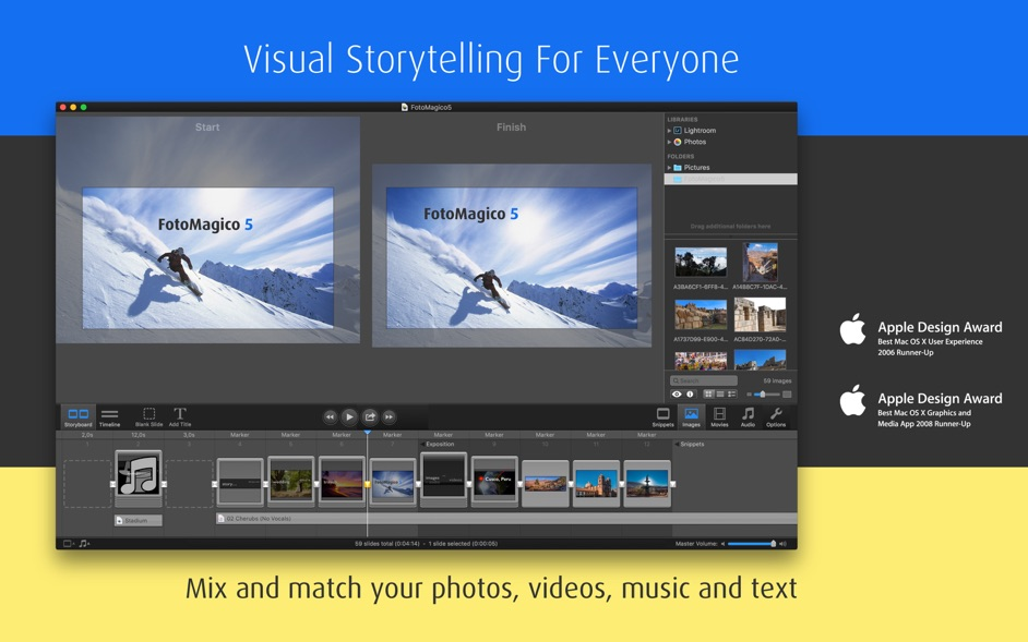 FotoMagico 5 6 6 – Powerful slideshow creator with multi-app