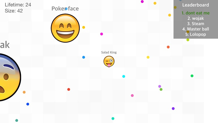 Emoji War: Eat 'Em All - Road to Survival in the Crazy Game with jump holes screenshot-3