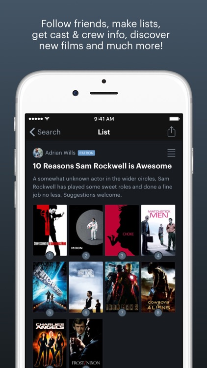 Letterboxd – The social network for film lovers screenshot-4