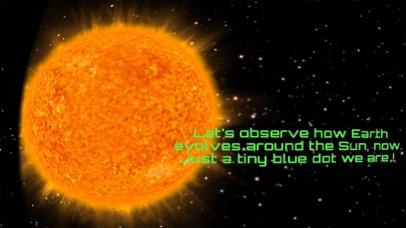 VR Solar System Cardboard screenshot one
