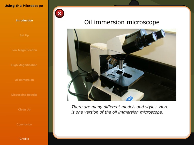 Virtual Labs: Using a Microscope