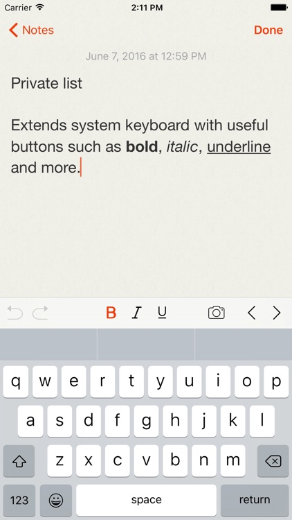 Lock Notes Pro - Protect your notes with password screenshot-3