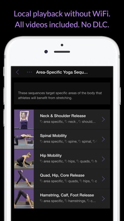 Yoga For Athletes: Improve Flexibility, Core & Balance screenshot-3