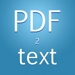 PDF to TXT - Extracts Text From PDF
