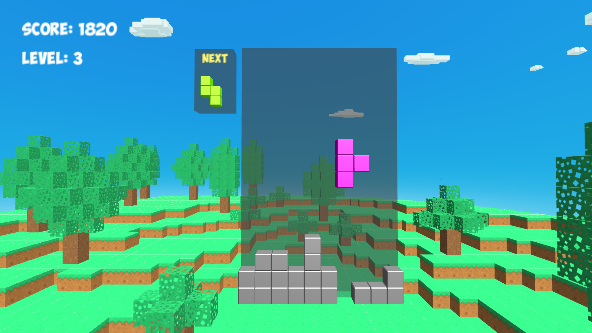 TETCUBE 3D for TV screenshot 1