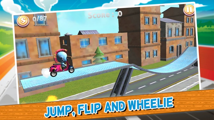 Traffic Moto Biker Rider - race car games extreme car racing simulator screenshot-3