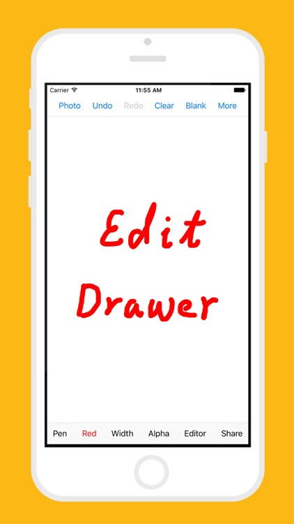Edit Drawer - Drawing & Editing On Photo & Picture