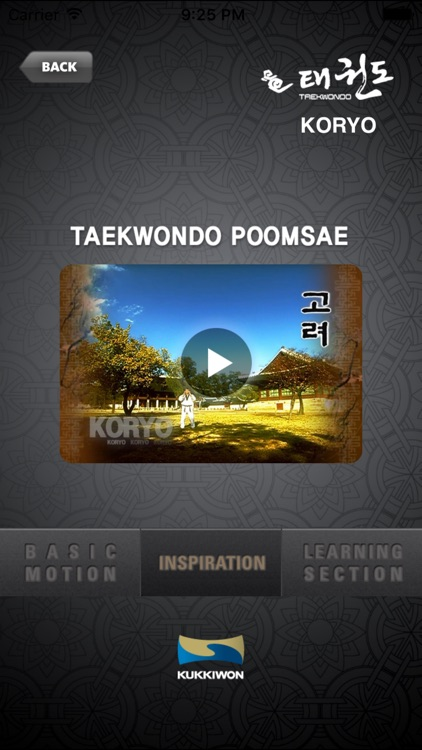 Kukkiwon Taekwondo Poomsae : Blackbelt's Patterns screenshot-2