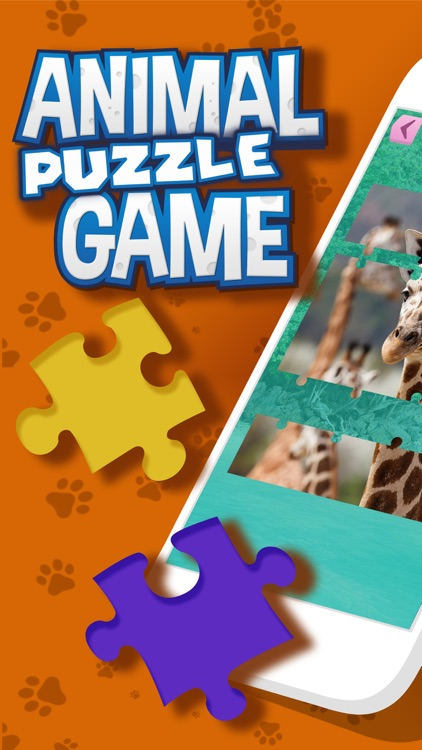 Animal Jigsaw Puzzle – Free Memory, Brain Exercise Game For Kids and Adult.s screenshot-0