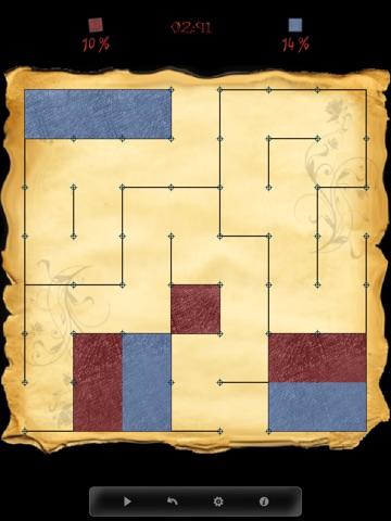 Точки и Квадраты - Классические Настольные Игры для iPad