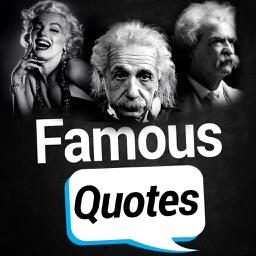 Famous quotes : Best quotes of  Mark Twain, Marilyn monroe, Albert Einstein.