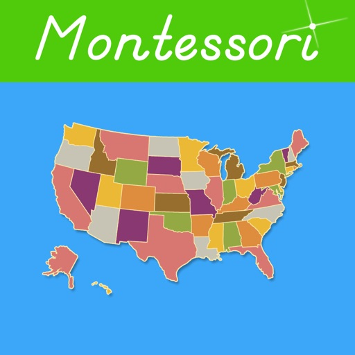United States of America - Montessori Approach To Geography