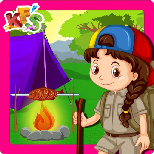 Summer Camp Cooking Story – Crazy fun & adventure game for kids