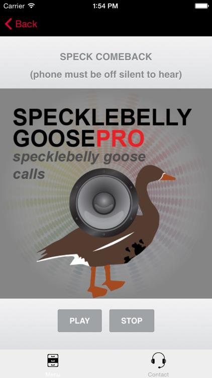 Specklebelly Goose Calls - Electronic Caller