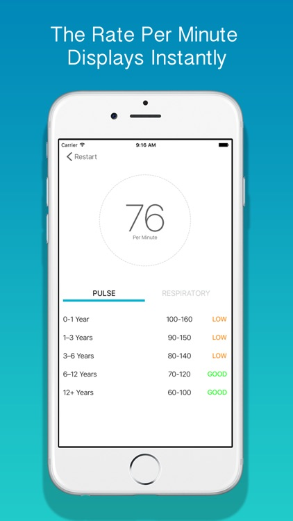 Medtimer - Heart Rate & Respiratory Rate for Professionals screenshot-3