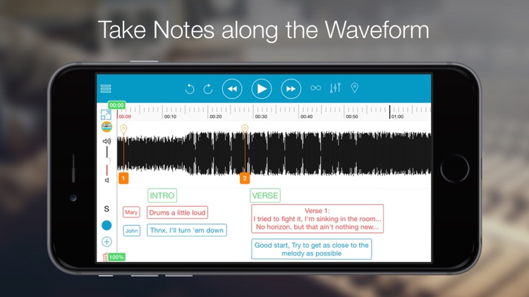 Notetracks-Take notes on music