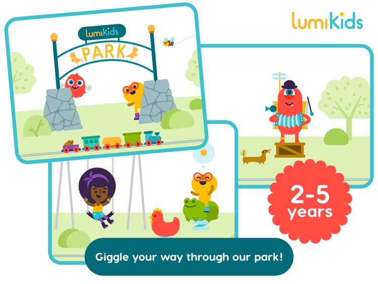 LumiKids Park by Lumosity, Early Learning Play for Kids screenshot-0