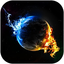 Galaxy Space Backgrounds & Wallpapers - Custom Home Screen Maker with HD Pictures of Planet & Astronomy
