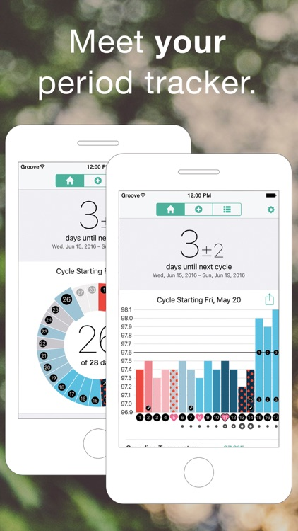 Groove - Period & Fertility Tracker