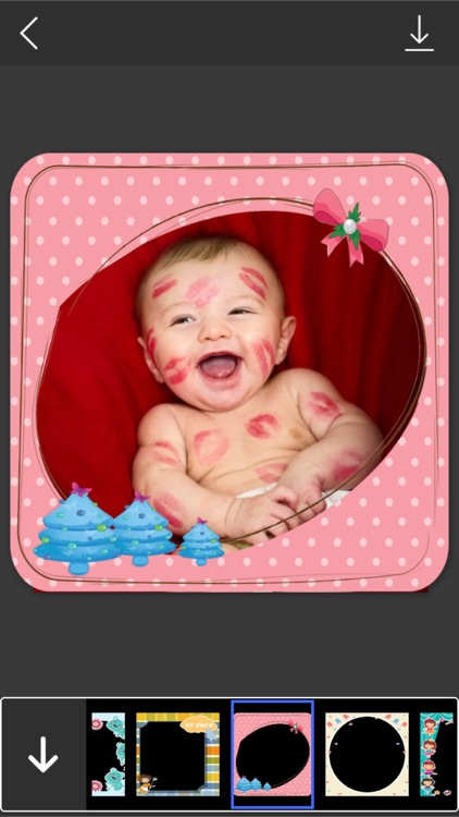 Cute Kid Photo Frame - Amazing Picture Frames & Photo Editor