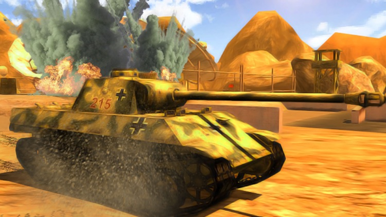 Clash of Tanks Tropical Island Warfare First Person Missile Shooter Games screenshot-3