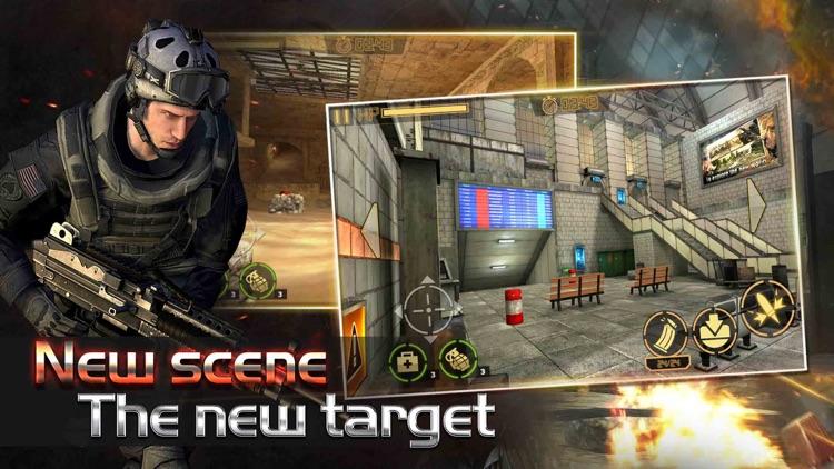 Commando Shooter : Battle - fps shooting game screenshot-3