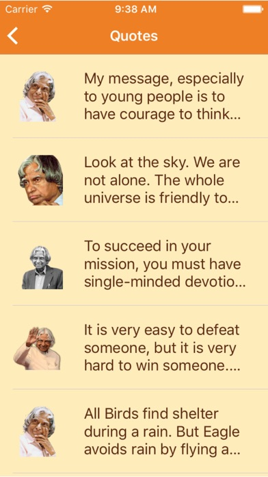 A. P. J. Abdul Kalam - The best quotes screenshot two