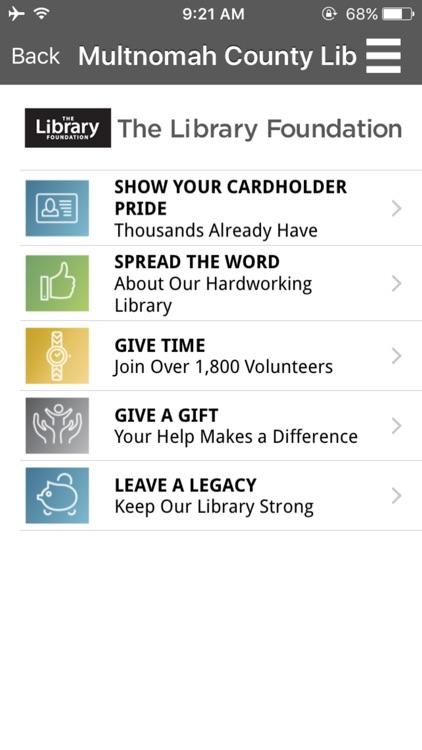 Multnomah County Library Mobile screenshot-3