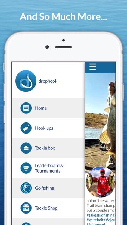 drophook Fishing App - Log, Share, And Compete! screenshot-4