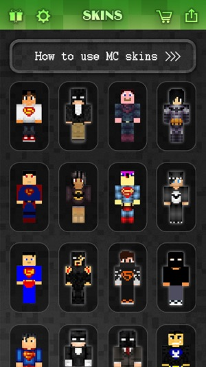 Batman & Superman Skins Collection - for Minecraft Pocket Edition ...