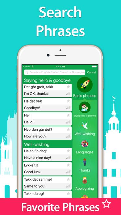 点击获取5000 Phrases - Learn Norwegian Language for Free
