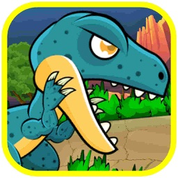 Dinosaur Classic Run fighting And Shooting Games