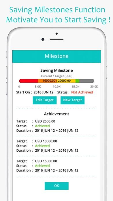 money expense manager spending saving planner app mobile