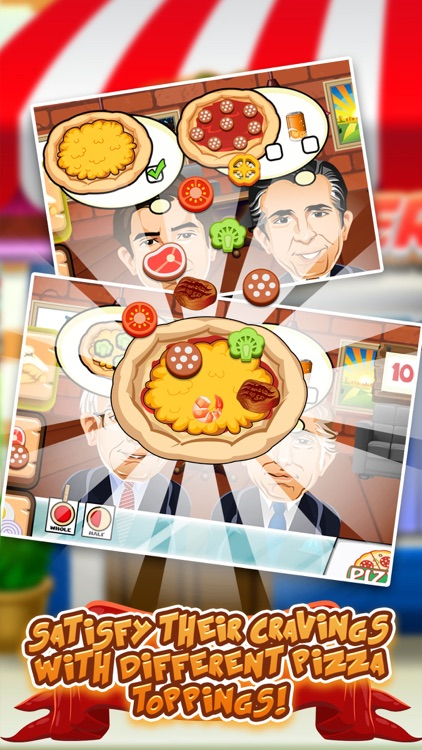 Trump's Pizza Restaurant Dash - 2016 Election on the Run Wall Cooking Game! screenshot-3