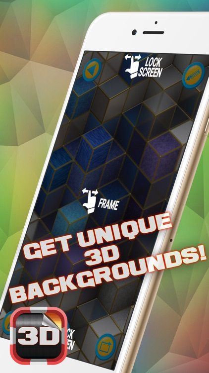 3D Wallpapers for Home Screen – Amazing Background and Custom Theme.s Collection screenshot-3