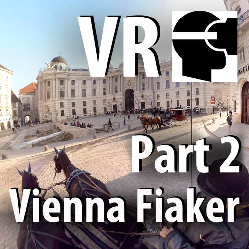VR Virtual Reality Through Vienna in a Horse-Drawn Carriage - Fiaker Part 2