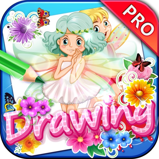 Drawing Desk Fairies : Draw and Paint Creator to Coloring Book Edition Pro